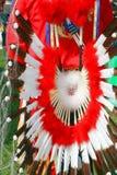 Fato tribal do nativo americano imagem de stock