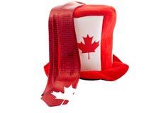 Fatos do feriado nacional do dia de Canadá Foto de Stock