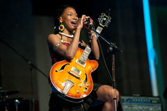 Fatoumata Diawara Royalty Free Stock Photography