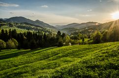 Fatra Eslováquia de Mala Foto de Stock Royalty Free
