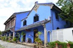 Fatt Tze dwór lub Błękitny dwór w Georgetown, Penang, Malezja zdjęcie stock