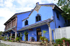 Fatt Tze Mansion or Blue Mansion in Georgetown, Penang, Malaysi Stock Photos