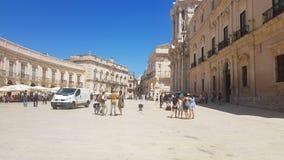 Fatta di Foto Piazza Duomo fotografia stock