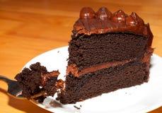 Fattening dessert Royalty Free Stock Image