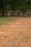 Fattig fotboll. Arkivbild