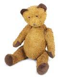 Fattig gammal Taddy björn Arkivbild