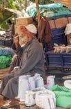 Fattig marknad Marocko Royaltyfri Bild