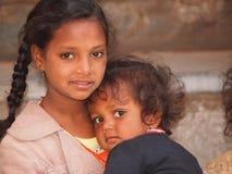Fattiga barn Royaltyfri Bild