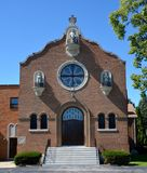Fattiga Clare Chapel Arkivfoton