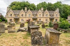Fattighusen i kyrkan Witney för St Marys Arkivfoton