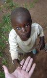 Fattigt afrikanskt barn Arkivfoton