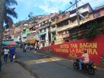 Fattigt område av Latinamerika Royaltyfri Foto