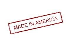 Fatto in America Fotografia Stock Libera da Diritti