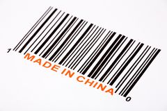 Fatto in Cina fotografia stock