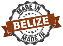 Fatto in guarnizione di Belize Fotografie Stock