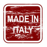 fatto in Italia illustrazione vettoriale
