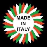 Fatto in Italia Fotografia Stock Libera da Diritti