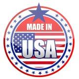 Fatto negli S.U.A. Immagine Stock Libera da Diritti