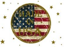 Fatto negli S.U.A. Fotografia Stock