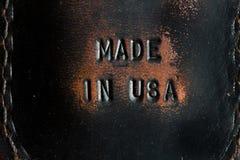 Fatto negli S.U.A. immagine stock