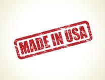 Fatto nel bollo degli S.U.A. Immagine Stock Libera da Diritti