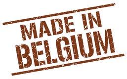 Fatto nel bollo del Belgio Immagine Stock