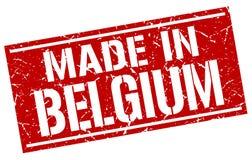 Fatto nel bollo del Belgio Fotografia Stock Libera da Diritti