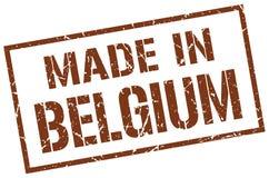 Fatto nel bollo del Belgio Immagine Stock Libera da Diritti