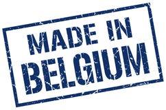 Fatto nel bollo del Belgio Fotografie Stock