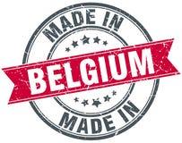 Fatto nel bollo del Belgio Immagini Stock Libere da Diritti