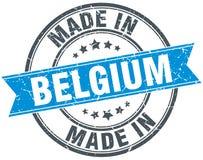Fatto nel bollo del Belgio Immagini Stock