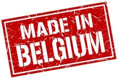 Fatto nel bollo del Belgio illustrazione vettoriale