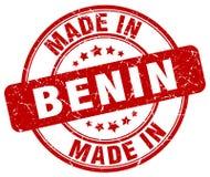 fatto nel bollo del Benin Royalty Illustrazione gratis