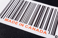 Fatto nel Canada Fotografia Stock Libera da Diritti