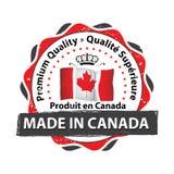 Fatto nel Canada, marchio di qualità premio Immagine Stock Libera da Diritti