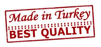 Fatto nella migliore qualità della Turchia Immagini Stock Libere da Diritti