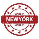 Fatto a New York immagine stock libera da diritti
