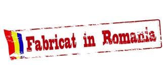 Fatto in Romania Immagini Stock