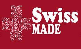 Fatto in Svizzera Fotografia Stock