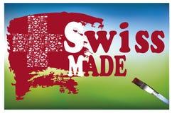 Fatto in Svizzera Fotografie Stock Libere da Diritti