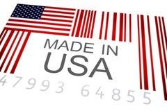 Fatto in U.S.A. Fotografia Stock Libera da Diritti