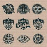 Fatto in U.S.A. illustrazione di stock