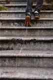 Fatto un passo in esso Fotografie Stock