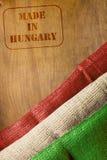 Fatto in Ungheria Fotografia Stock Libera da Diritti