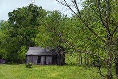 Fattoria abbandonata nella Virginia rurale fotografia stock