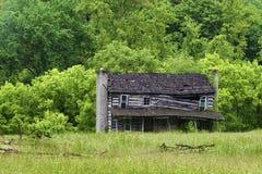 Fattoria abbandonata nella Virginia rurale fotografie stock libere da diritti