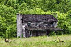 Fattoria abbandonata nella Virginia rurale immagine stock libera da diritti