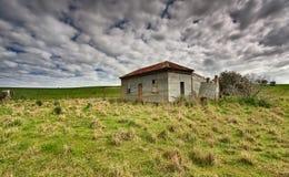 Fattoria abbandonata vecchia Australia del paese fotografia stock