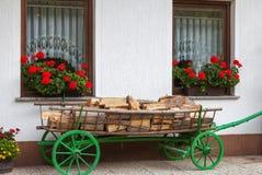 Fattoria della decorazione in Ukants, Slovenia Immagine Stock Libera da Diritti