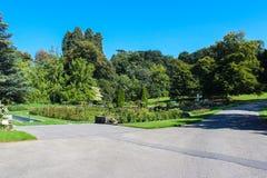 Fattoria della La del parco, Ginevra Fotografie Stock